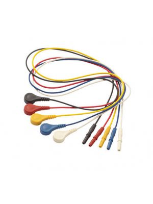 8011346 snap electrode cables 5pcs rwbyk 1