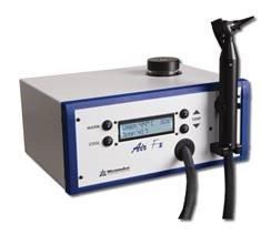 The Micromedical Air Fx caloric irrigator